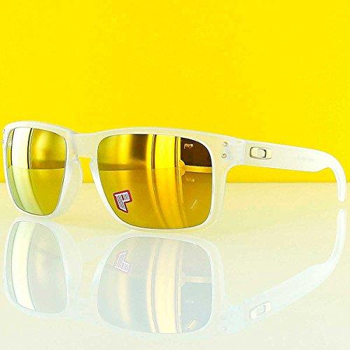 Oakley Holbrook Oo9102 Matte Clear / Shaun White Signature / 24k Iridium Polarized Kunststoffgestell Sonnenbrillen