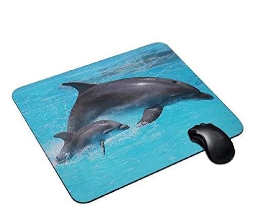 Delfine Mauspad Anti-Rutsch, Wasserfest 220x180 Veredeln Sie Ihren Schreibtisch mit diesem eleganten Mauspad
