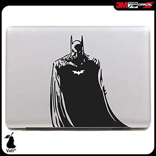 """Vati hojas desprendibles Batman Geniales Diseño Mejor Sticker Decal la piel del vinilo de Arte Negro Perfecto para Apple Macbook Pro Aire Mac de 15 """"pulgadas / Unibody 15 Inch Laptop"""