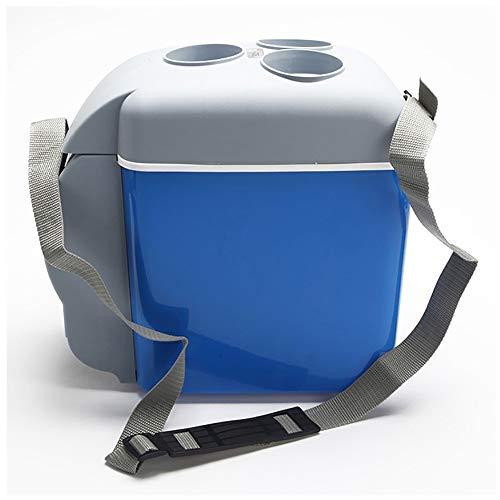 QYLT Kühlbox, Tragbare Thermo-Elektrische Kühlbox, DC12 V Mini-Kühlschrank für Auto und Camping, 6 Liter 7,5 Liter 8 Liter optional [Energieklasse A++]