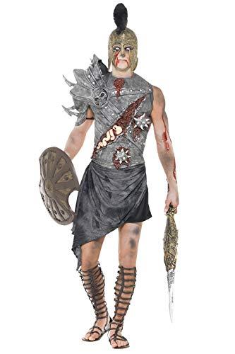 Gladiator Zombiekostüm Römischer Zombie Kostüm L 52/54 Gladiatoren Halloweenkostüm Antike Horror Römerkostüm Monster Römer Faschingskostüm Halloween Horrorkostüm Karneval Kostüme Herren (Halloween-kostüm Römische Antike)