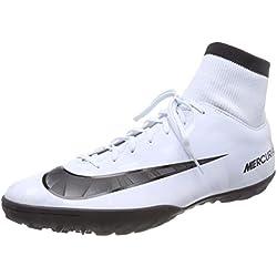 Nike Mercurial X Victory VI CR7 DF TF 903612, Scarpe da Calcio Uomo, Blau Schwarz-Weiß-Blauton 401, 44.5 EU