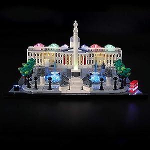 LIGHTAILING Set di Luci per (Architecture Trafalgar Square) Modello da Costruire - Kit Luce LED Compatibile con Lego… 0716852279739 LEGO