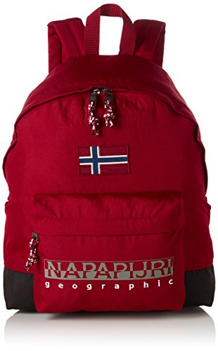Napapijri HACK BACKPACK, Zaino Unisex - Adulto, Rosso (Rot (OLD RED 094)), 30x42x13 cm (B x H x T)