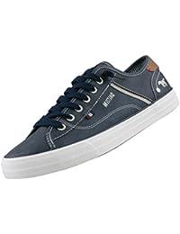 Mustang 4059-301 Zapatos casual para hombre, schuhgröße_1:eur 42;Farbe:gris