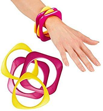 ladies-80s-pink-yellow-disco-bracelets-fancy-dress-accessory