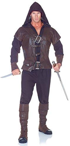 Attentäter Halloween Kostüm - Assassin Attentäter Kostüm für Erwachsene - M-L