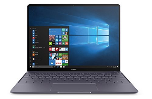 HUAWEI MateBook X 33,78 cm (13,3 Zoll FHD+ Display) Notebook (Intel® Core™ i5-7200U, 8 GB RAM, 256 GB SSD, 2 USB 3.0 (Type C) Dolby Atmos®, Windows 10 Home) grau (Win 7 Laptop I5)