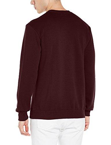 DC Sweatshirts - DC Minimal Crew Sweatshirt - Heather Charcoal Winetasting