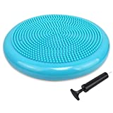 Trideer Air Stability Wobble Cushion with Free Pump, 34cm Extra Thick Core Balance - Best Reviews Guide