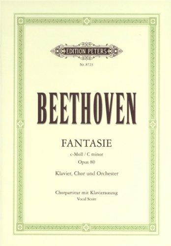 Fantasie für Klavier, Chor und Orchester c-moll Opus 80 / Transcription Voix Piano