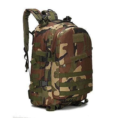 Zmsdt Outdoor-Reisen Wanderrucksack, Großraum-Rucksack Fashion City Rucksack Outdoor-Reitrucksack (Farbe : CP Camouflage) -