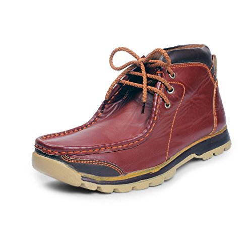 Bacca Bucci Men Brown Synthetic Boots 10 Uk  available at amazon for Rs.599