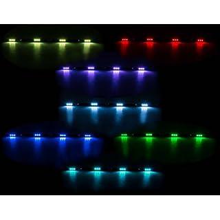 All Ride LED-Innenleuchte, Flache Bauweise, 4 x 3 SMD-LED, 7 Farben, geschaltet, Länge 70 cm, 10-30V