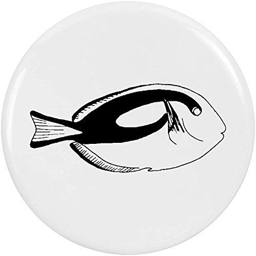 Azeeda 2 x 38mm 'Tropischer Fisch' Pin Knopf-Abzeichen (BB00039508) -