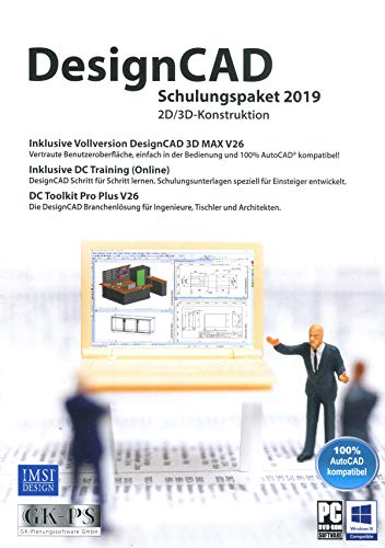 No Name (foreign brand) Avanquest DesignCAD Schulungspaket 2019