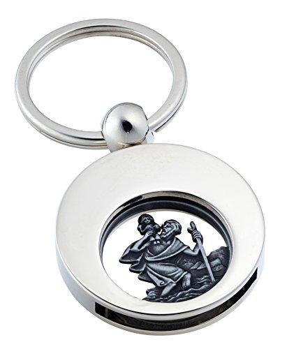 Jadani Schlüsselanhänger 'Saint Christopher' mit Einkaufswagenchip Christophorus