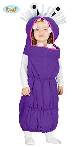 (Baby Wurmkostüm Kostüm Würmer für Kinder Wurm Kinderkostüm Krabbler Gr. 86-98, Größe:92/98)