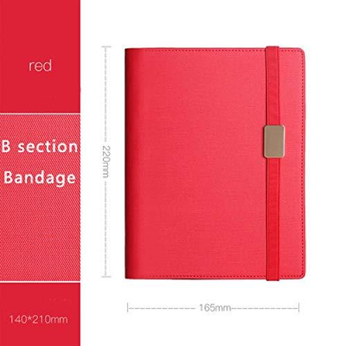 EUHOKD Cuaderno Asuntos De Negocios Alto Grado Reunión Cuero Engrosamiento De La Superficie Oficina Cuaderno Planificador De Simplicidad Agenda Diario 5 E