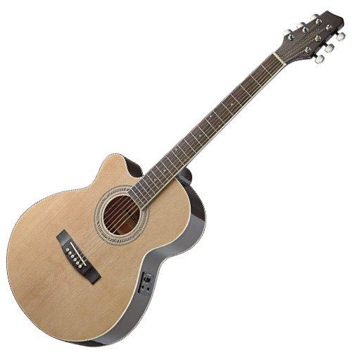 Stagg sa40mjcfi - izquierda N Guitarra Electroacústica