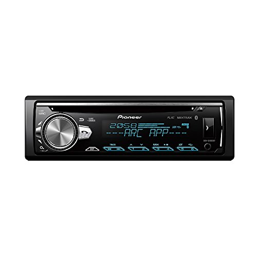 Pioneer DEH-S5000BT | 1DIN Autoradio | CD-Tuner mit RDS | Bluetooth | MP3 | USB | Aux-Eingang | Bluetooth Freisprecheinrichtung | Multi-Color Tastenbeleuchtung | Arc | Karaoke Mic Mixing | Spotify