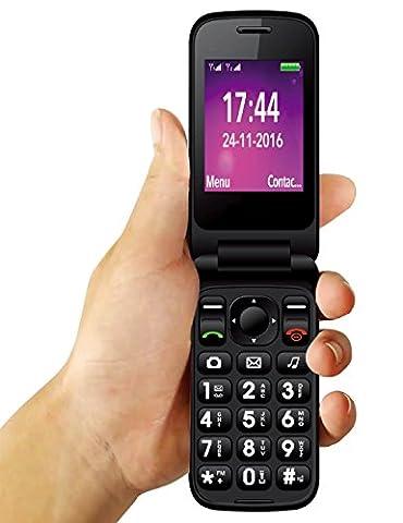 YINGTAI T21 2G Senior Telefon Große Volumen Große Schriftarten SOS TasTAI T21 2G Senior Telefon Große Volumen Große Schriftarten SOS Taste Funktion Handy für Ältere mit Bluetooth, GPRS, MMS, (Unlocked Gsm-bluetooth-kamera-telefon)