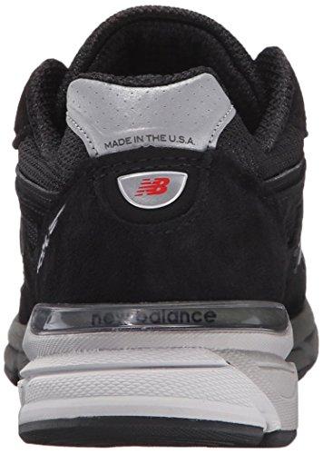 New Balance Women's W990V4 Running Shoe Black/Silver