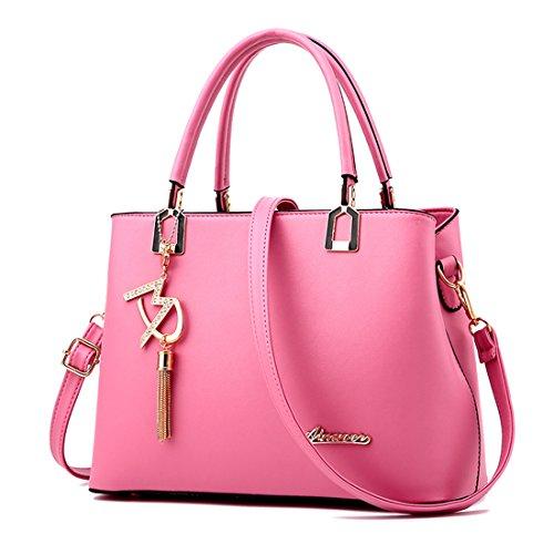 I nuovi borsa di cuoio delle signore borsa tracolla borsa del progettista grandi donne borsa a tracolla Borse a mano, vendendo a buon mercato!(DFMP04) E