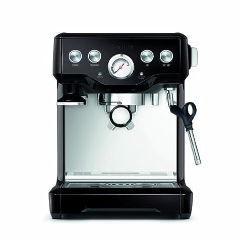 Breville BES840BSXL The Infuser Espresso Machine, Black Sesame