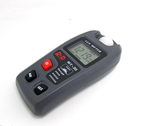 Digital Light Meter (clz- luxmètres Digital Light Meter Luxmeter Luminometer Photometer Lux/FC tragbar Luxmeter Digitale Strand von 0,1~ 200.000oder Lux 0,01~ 20,000FC Lux Meter LCD Lumen Maßnahme Tester Foto)
