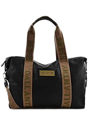 Gallantry-Sac porte epaule a4 army (Noir)
