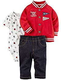 34-74 NEU Shirt Hose Body Set rot grün Carter/'s 3-Teiler Weihnachten Gr