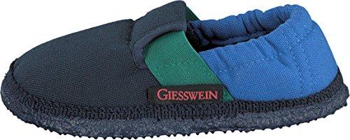 Giesswein Aichach Unisex-Kinder Flache Hausschuhe Blau