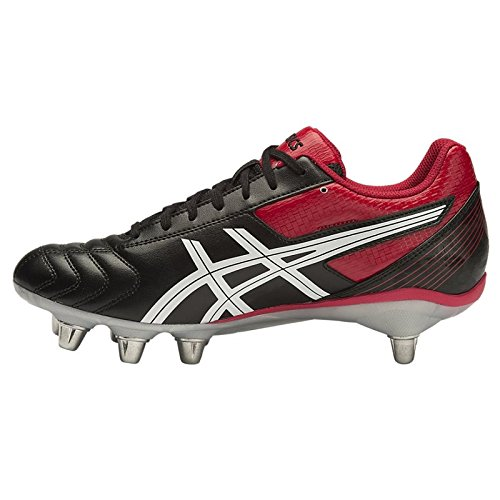 Asics Lethal Tackle, Chaussures de Rugby homme Black
