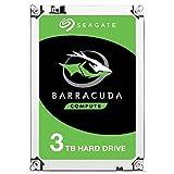 Seagate ST3000DM007 Barracuda 3 TB interne Desktop Festplatte (8,89 cm (3,5 Zoll) 5400 rpm, Sata 6 Gb/s)