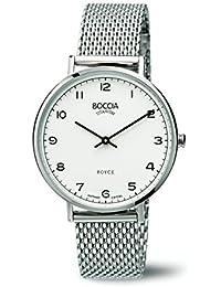 Boccia Damen-Armbanduhr Analog Quarz Edelstahl 3590-08