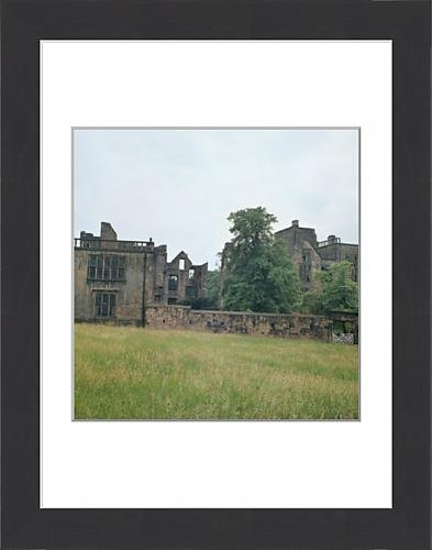 framed-print-of-the-ruins-of-old-hardwick-hall-photo