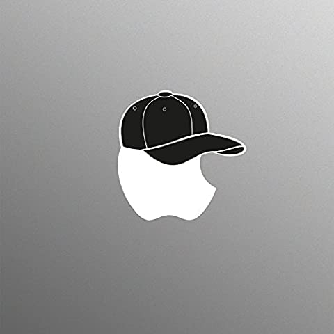 Supertogether Baseball Cap Decal Sticker for 13 15 17 inch Apple MacBook / Pro / Air Laptop
