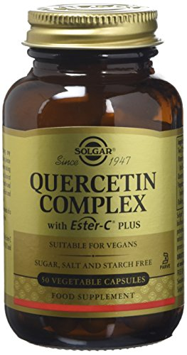 Solgar Quercetin Complex with Ester-C Plus Vegetable Capsules - Pack of 50