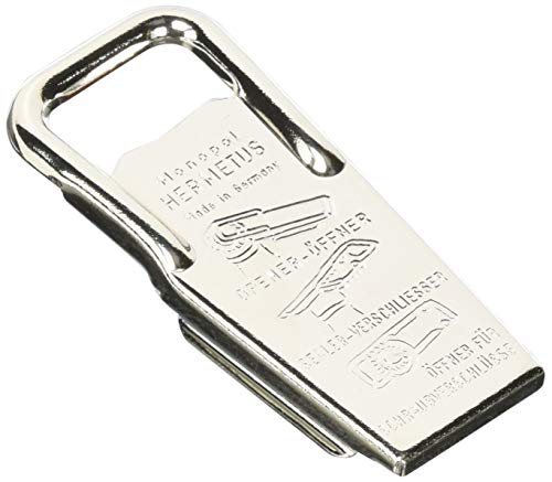 Westmark Retro-Flaschenöffner, Aluminium, Silber, 8,6 x 3,7 x 1,5 cm