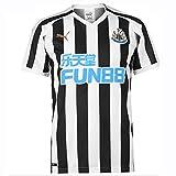 Puma Men's Nufc Home Replica Sponsor Logo T-Shirt