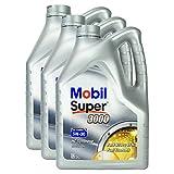 3x Motoröl Mobil Super 3000 X1 Formula Fe 5w-30 5l Kanister Hochwertiges Hochleistungs Motoren Öl Verschleißschutz Kraftstoff Sparend Benzin Und Diesel Motor High Performance