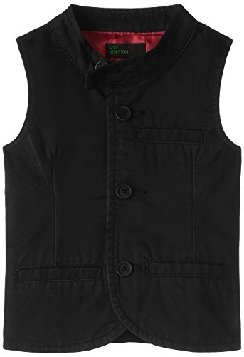 United Colors of Benetton Baby Boys' Jacket (15A2ABCH100AI100_Black_0Y)
