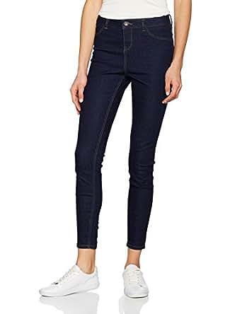 New Look -Skinny Jeans Donna, Blu (Mid Blue),  34 (Taglia Produttore: 6)