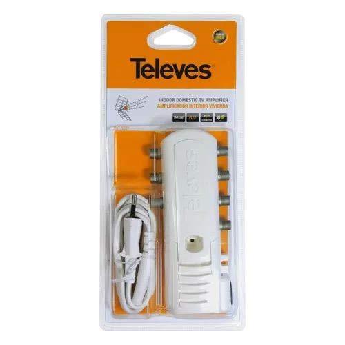Televes 5531 - Amplificador vivienda 1e/6s f 47-862mhz