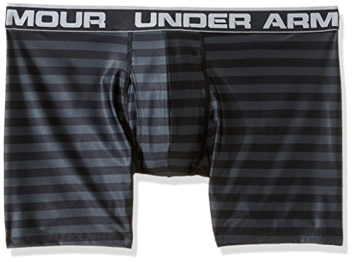 Under Armour – Maglietta originale Series stampato Boxerjock Black/Steel