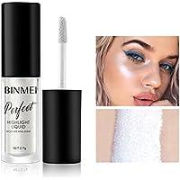 ASAP CHIC Sexy Highlighter Liquid Bronzer Concealer Highlighters Face Eye Contour Brillo de maquillaje Shimmer (Blanco perlado)
