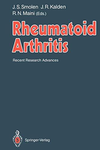 Rheumatoid Arthritis: Recent Research Advances - Rheumatoide Arthritis-entzündungen
