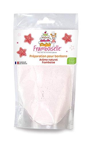 Framboiselle Préparation Bonbons Goût Framboise 100 g - Lot de 4