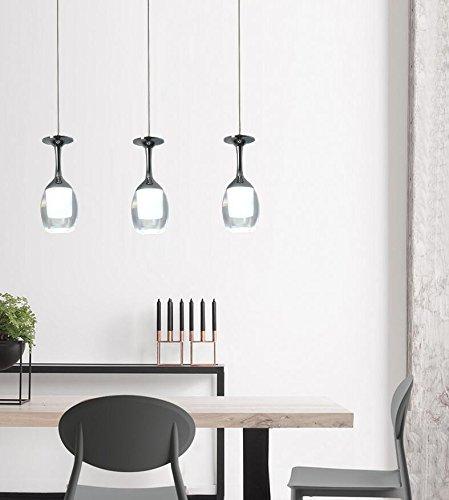 Xzfddn Restaurant Kronleuchter Einem Kopf Moderne Kurz Warm Romantischen Charakter Bar Lampe Schale Klein Pendelleuchte -